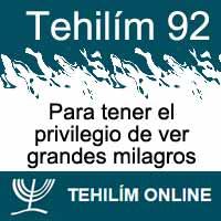 Tehilím 92